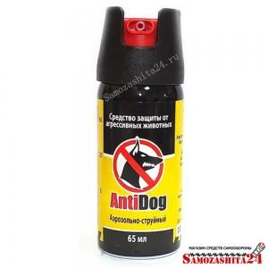 Газовый баллончик AntiDog, 65 мл.
