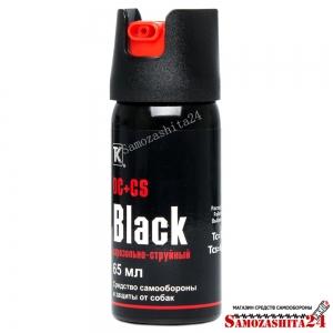Газовый баллончик Black, 65 мл.